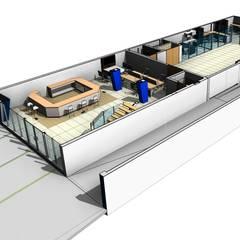 Procesa Cancún: Oficinas y tiendas de estilo  por Facere Arquitectura