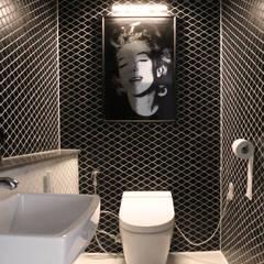 modern Bathroom by 디자인스튜디오참