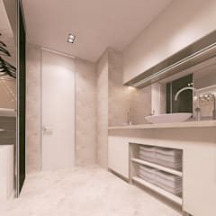 ЖК «Измайловский»   Residential complex «Izmailovskii»: Ванные комнаты в . Автор – Дмитрий Коршунов