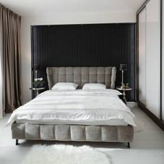 Dom w Margoninie 2: styl , w kategorii Sypialnia zaprojektowany przez EWEM Aranżacja wnętrz Edyta Wełnicka