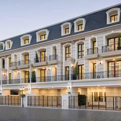 G-Stark Architecture – Beyaz Home: akdeniz tarzı tarz Evler