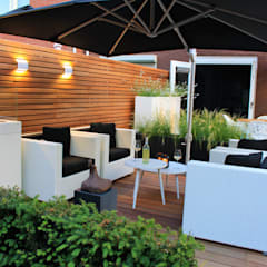 Ibiza tuin: moderne Tuin door Hoveniersbedrijf Guy Wolfs