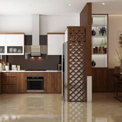 :  Küche von Công ty thiết kế xây dựng Song Phát