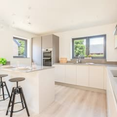 Dry Drayton Show-home:  Kitchen by Sara Slade Interiors