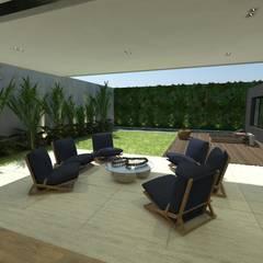Residência 71: Jardins  por STUDIO CESAR BORSOI