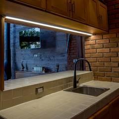 Casa IC: Muebles de cocinas de estilo  por Taller de Arquitectura Bioclimática +3d