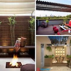 :  Terrasse von Công ty thiết kế xây dựng Song Phát
