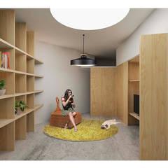 Casa LH: Casas de estilo  de PALERA arquitectos