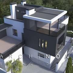 Дом на склоне: Вилла в . Автор – ООО 'АрхиНОВА и К'