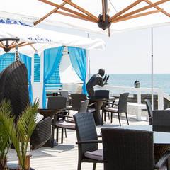 """Ресторан """"SeaZone"""": Столовые комнаты в . Автор – ООО 'АрхиНОВА и К'"""