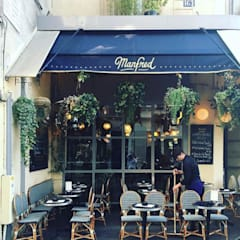 Terrasses et balcon : Terrasse de style  par Paris Pousse