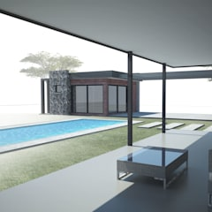 House De Souza by A4AC Architects Modern Iron/Steel