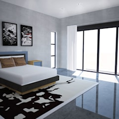 New Master Bedroom:  Bedroom by A4AC Architects