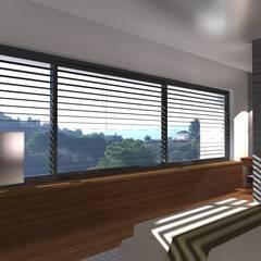uPVC windows by perez ipar arquitectura  e decoração