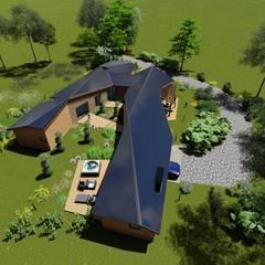 Roof by Nomade Arquitectura y Construcción spa