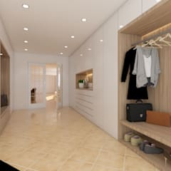 Dressing room by DR Arquitectos