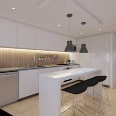 ห้องครัว โดย DR Arquitectos , มินิมัล