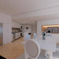 غرفة السفرة تنفيذ DR Arquitectos