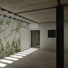 Cochera: Garajes de estilo moderno por eit.a