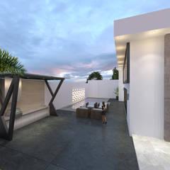 Garden Pool by Miranda Paez Arquitectura Interior