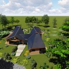 Nomade Arquitectura y Construcción spaが手掛けたログハウス