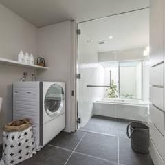 五日市の家: WORKS  WISEが手掛けた浴室です。