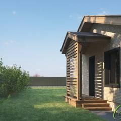 Американское бунгало: Дома в . Автор – Компания архитекторов Латышевых 'Мечты сбываются'