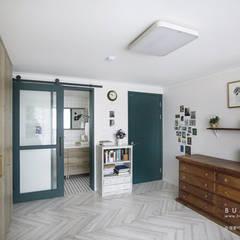 [30평]단 하나뿐인 나만의 공간 홈 인테리어 양재동파크사이드의 풀스토리 by 범블비디자인 30평대인테리어 에클레틱 욕실 by 범블비디자인 에클레틱 (Eclectic)