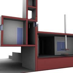 Maison individuelle de style  par Arquitecto Manuel Daniel Vilte