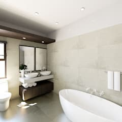 Eldoglen Estate Additions:  Bathroom by A4AC Architects,