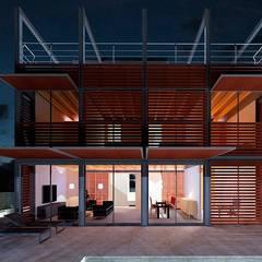 CASA IBARRA: Casas unifamilares de estilo  de VALEROYOCHANDO arquitectura