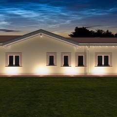 Villa Prefabbricata in Legno: Casa di legno in stile  di Avantgarde Construct Luxury Srl