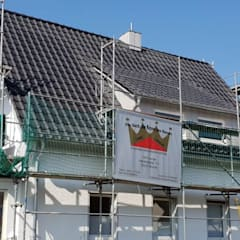 Gable roof by Dachdeckermeisterbetrieb Dirk Lange