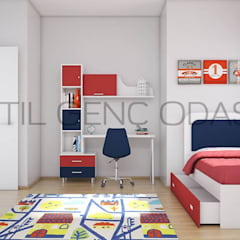 Tırtıl Genç ve Çocuk Odası – XL Genç Odası Takımı:  tarz Genç odası