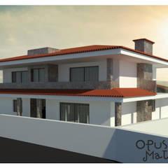 Habitação Ribeirão Tradicional: Casas unifamilares  por Opus-Mater atelier