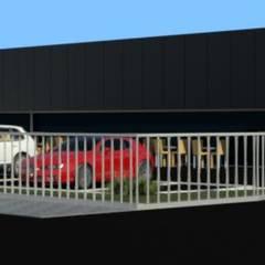 Padaria VNF: Pavimentos  por Opus-Mater atelier
