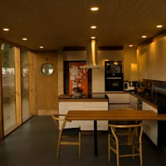 Casa Los Olmos: Cocinas equipadas de estilo  por PhilippeGameArquitectos