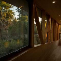 Vista al Jardin Segundo Piso: Jardines de estilo  por PhilippeGameArquitectos