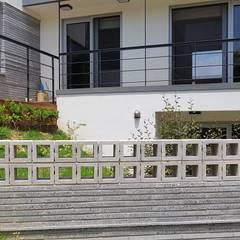 청주시 단독주택: 건축사사무소  CSU의  주택