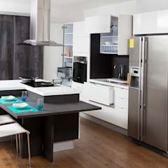 Built-in kitchens by TRES52 S.A.S