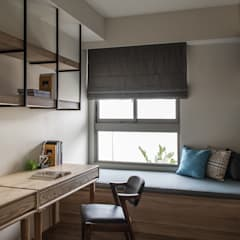 مكتب عمل أو دراسة تنفيذ 詩賦室內設計