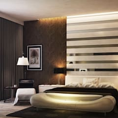 Asian style bedroom by Auraa Interius Asian