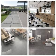 Formatos cerámicos ITT Ceramic: Espacios comerciales de estilo  por ITT Ceramic