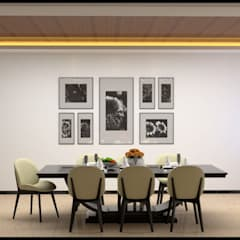 INTERIOR DESIGN PROJECT:  Dining room by FORM SPACE ARCHITECTURAL STUDIO