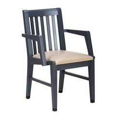 Nova Sandalye – Kolçaklı Ahşap Sandalye MODELİ 2:  tarz Ofisler ve Mağazalar