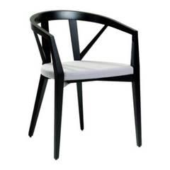 Nova Sandalye – Kolçaklı Ahşap Sandalye MODELİ 4:  tarz Yeme & İçme
