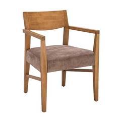Nova Sandalye – Kolçaklı Ahşap Sandalye MODELİ 5:  tarz Yeme & İçme