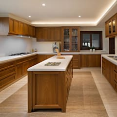 LP House: Dapur oleh ARF interior,