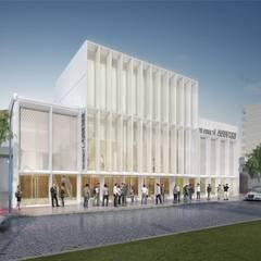 Pusat Konferensi by Mauricio Morra Arquitectos