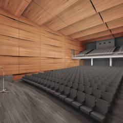 قاعة مؤتمرات تنفيذ Mauricio Morra Arquitectos